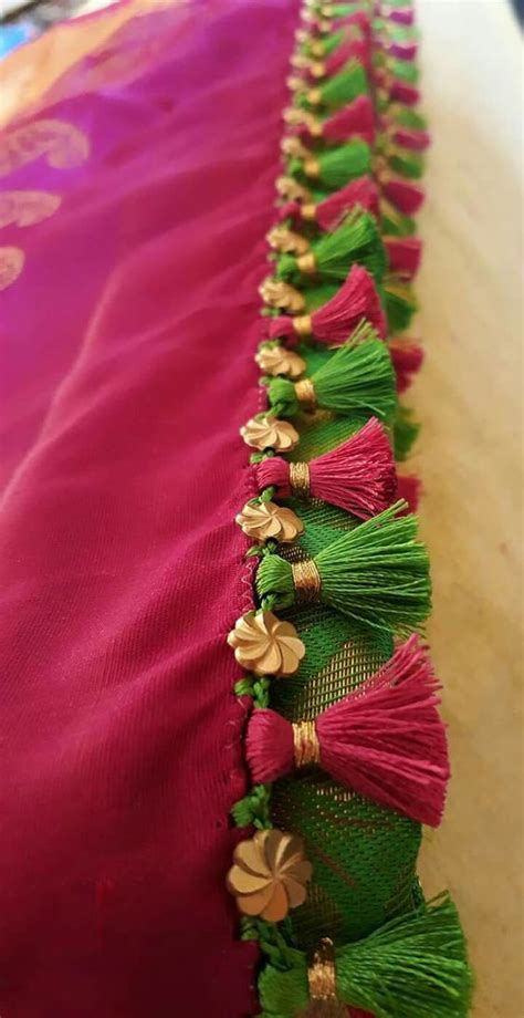 saree tassels saree kuchulu designs  handmade crafts