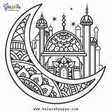 Coloring Ramadan Activities Islamic Printable Mandala Colouring Lantern Printables Sheets Belarabyapps Pattern Crafts Nacht Flaches Wald Banner Vektoren Education sketch template