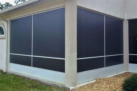 lanai door open floor concept with panoramic view of