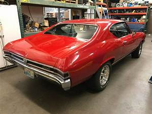 1968 Chevelle Custom 427 6 Speed For Sale