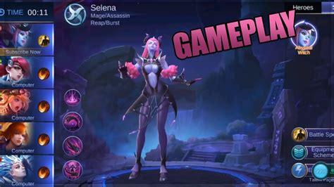 New Hero Selena Gameplay, Skills And