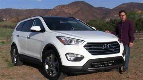 2014 Hyundai Santa Fe Review   YouTube