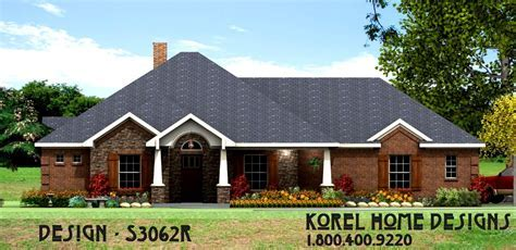 Family Home Plan S3062R   Texas House Plans   Over 700