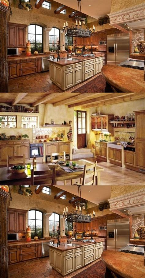 charming country kitchen decorations  italian style