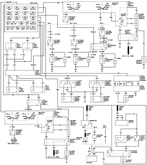 Firebird Fuse Diagram Third Generation Body Message Boards