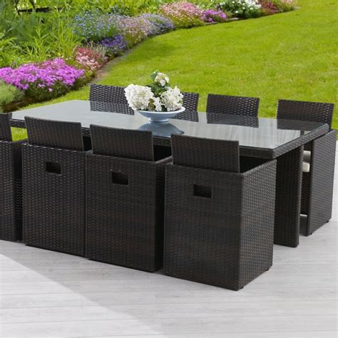 table chaise de jardin table de jardin en resine tressee 28 images table