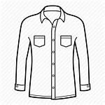 Sleeve Drawing Icon Shirts Collar Getdrawings