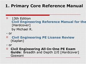 Civil Engineering Pe Exam