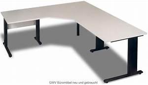 Winkelschreibtisch Selber Bauen : winkelschreibtisch lichtgrau 200 cm c fu gwv b rom bel ~ A.2002-acura-tl-radio.info Haus und Dekorationen