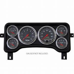 Direct Fit Dash Panel  6 Gauge  Jeep Wrangler 96
