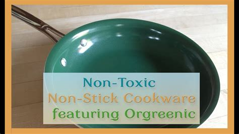 non toxic pan stick cookware orgreenic featuring