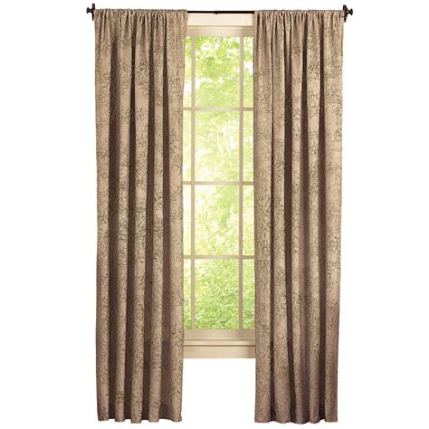taffeta drapery panels crushed taffeta textured curtain panel ebay