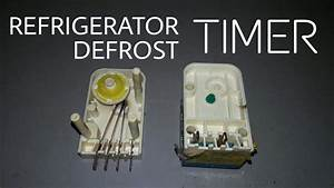 Refrigerator Timer Test Repair   Defrost Timer Check And Wiring English