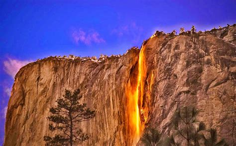 Five Yosemite Falls Sierra Nevada United States