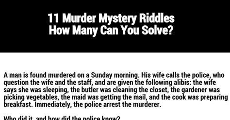 Kachemak Gear Shed Wa by 16 Brain Teasers 11 Murder Mystery