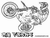 Motocross Dirt Bike Coloring Pages Bikes Fmx Dirtbikes Colouring Stunt Draw Drawing Rider Cartoon Printables Printable Fierce Sketch Boys Cool sketch template