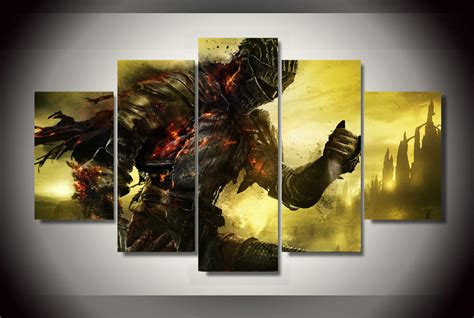panels dark souls  group artwork multi canvas art