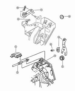 1995 Chrysler Cirrus Cable  Clutch Release  Linkage  Mopar