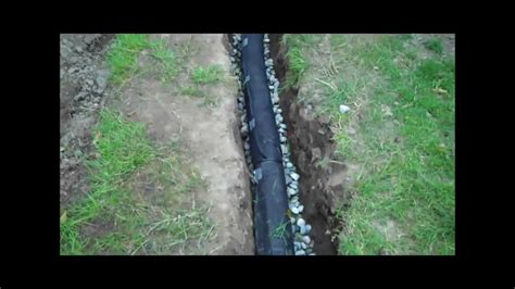 install  drainage pipe youtube