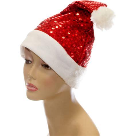 red sequin santa hat 22122rdao craftoutlet com