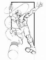 Daredevil Coloring Printable Dessin Superheroes Colorear Marvel Colouring Drawing Coloriage Printablefreecoloring Heros Imprimer Birthday Enregistree Depuis sketch template