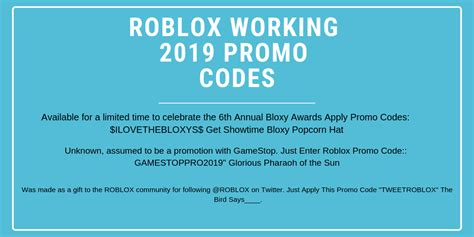 hot   roblox promo codes list   expired
