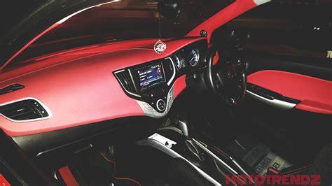 Cars Interior Modified : Modified Baleno With Scissor Doors Looks Smoking Hot