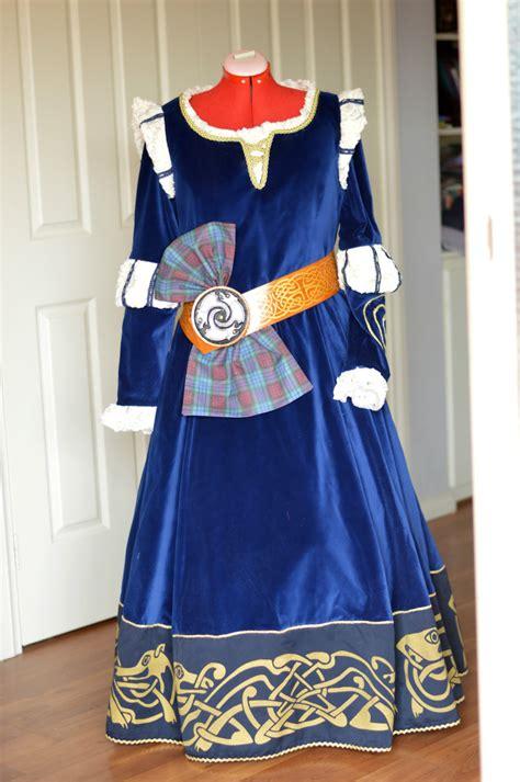 Merida / Scottish Princess, Brave, Costume Includes Gown ...