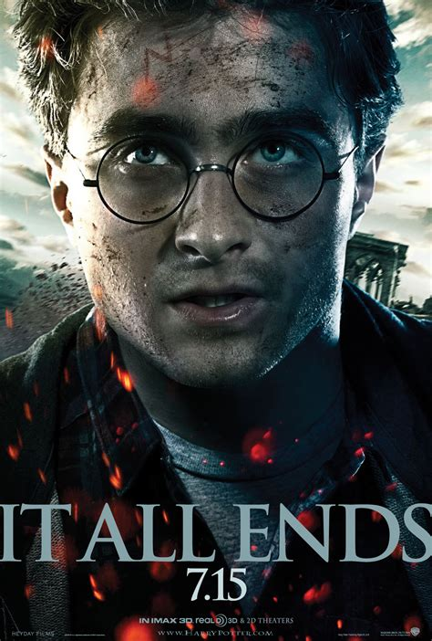 new harry potter and the deathly hallows part 2 poster collider