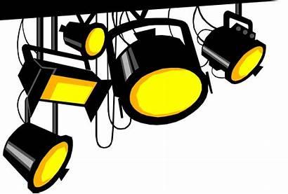 Spotlight Clipart Cliparts Clip Spotlights Lights Spotlighting