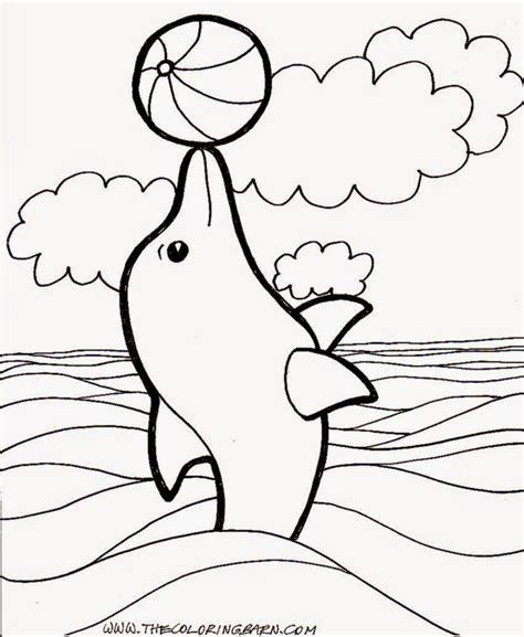 dolphin coloring pages dolphin coloring pages kidsuki