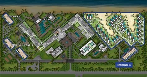 master plan hotel resort google search resort plan