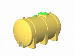 Tonne A Eau Plastique : cuve rotomoulee 2 500 litres ~ Dailycaller-alerts.com Idées de Décoration