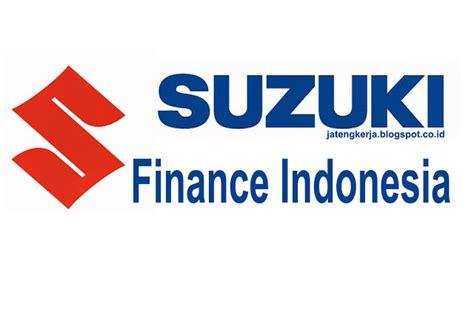 Suzuki Financing by Lowongan Kerja Field Collection Pt Suzuki Finance