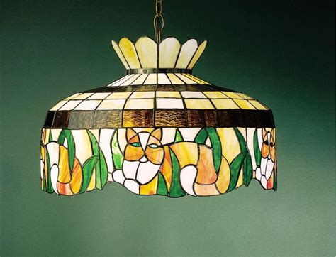 Stained Glass Ceiling Fan Light Covers Home Design