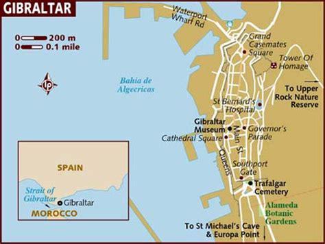 large gibraltar maps     print high