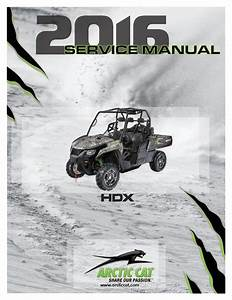 Arctic Cat 2016 Prowler Hdx Service Manual Pdf Download