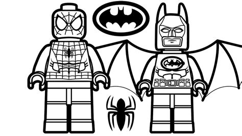 Perfect Lego Batman Coloring Pages In Free Colouring