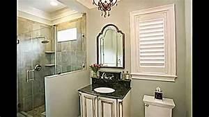 Tapeten Badezimmer Beispiele : 21 ideen wie sie ein kleines bad gestalten und dekorieren k nnen youtube ~ Markanthonyermac.com Haus und Dekorationen
