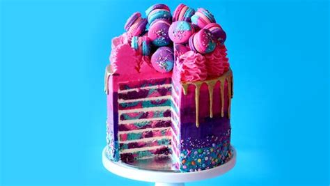 highway unicorn cake recipe tastemade