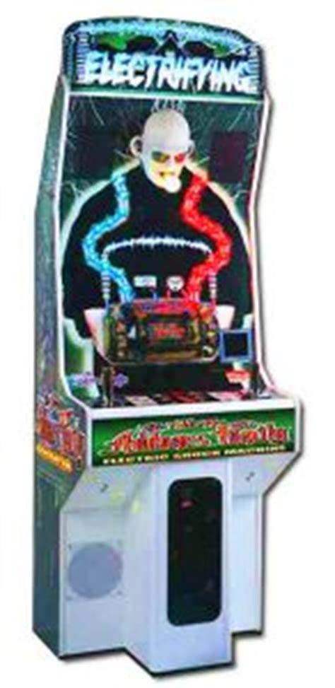 electric shocker chair arcade racing simulators