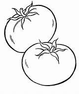 Coloring Pages Vegetable Vegetables Clipartmag sketch template