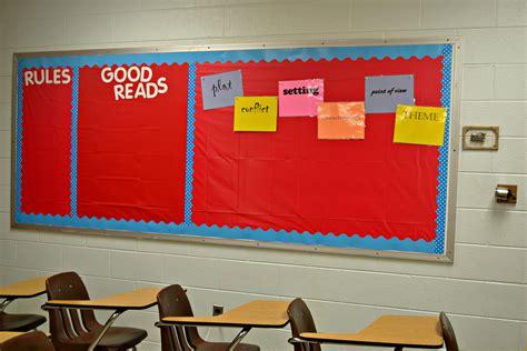 Ideas For English Classroom Decoration  High School English Classroom Decorating Ideas Design