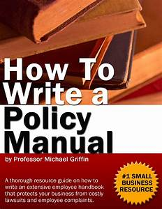Office Policy Manual E Book
