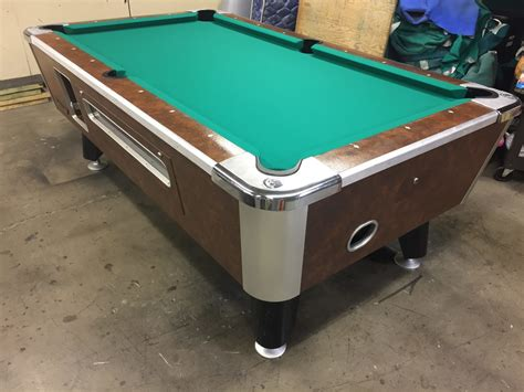 table 030917 used coin operated bar pool tables