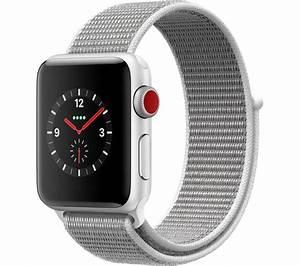 Buy APPLE Watch Series 3 Cellular - Grey Sport, 38 mm ...