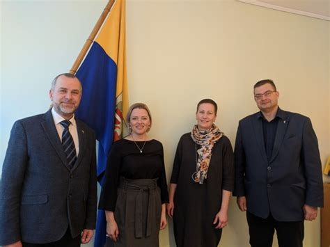 PBLA tiekas ar sadarbības partneriem Valmieras pilsētas ...