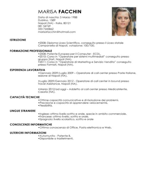 Sle Cv For Call Center Without Experience by Call Center Curriculum Vitae 28 Images Call Center Resume Sle Exemples Centre D Appel De Cv