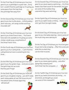 12 Days Christmas Ideas For Work