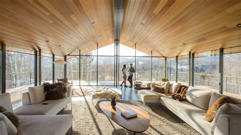 pronged glass house rises  vermont curbed